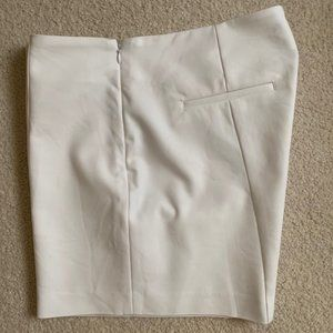 Saks Fifth Avenue cotton/nylon Shorts White Sz 12